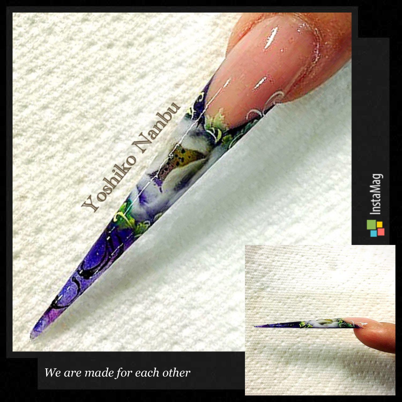 Pin by Moisess Taste on Stiletto shaped nails   Stiletto
