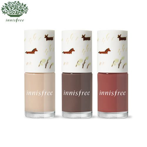 Innisfree Real Color Nail 6ml 2016 Jeju Limited A Highly Pigmented High Gloss Nail Polish Inspired By Th Nail Colors Innisfree Korean Beauty Store