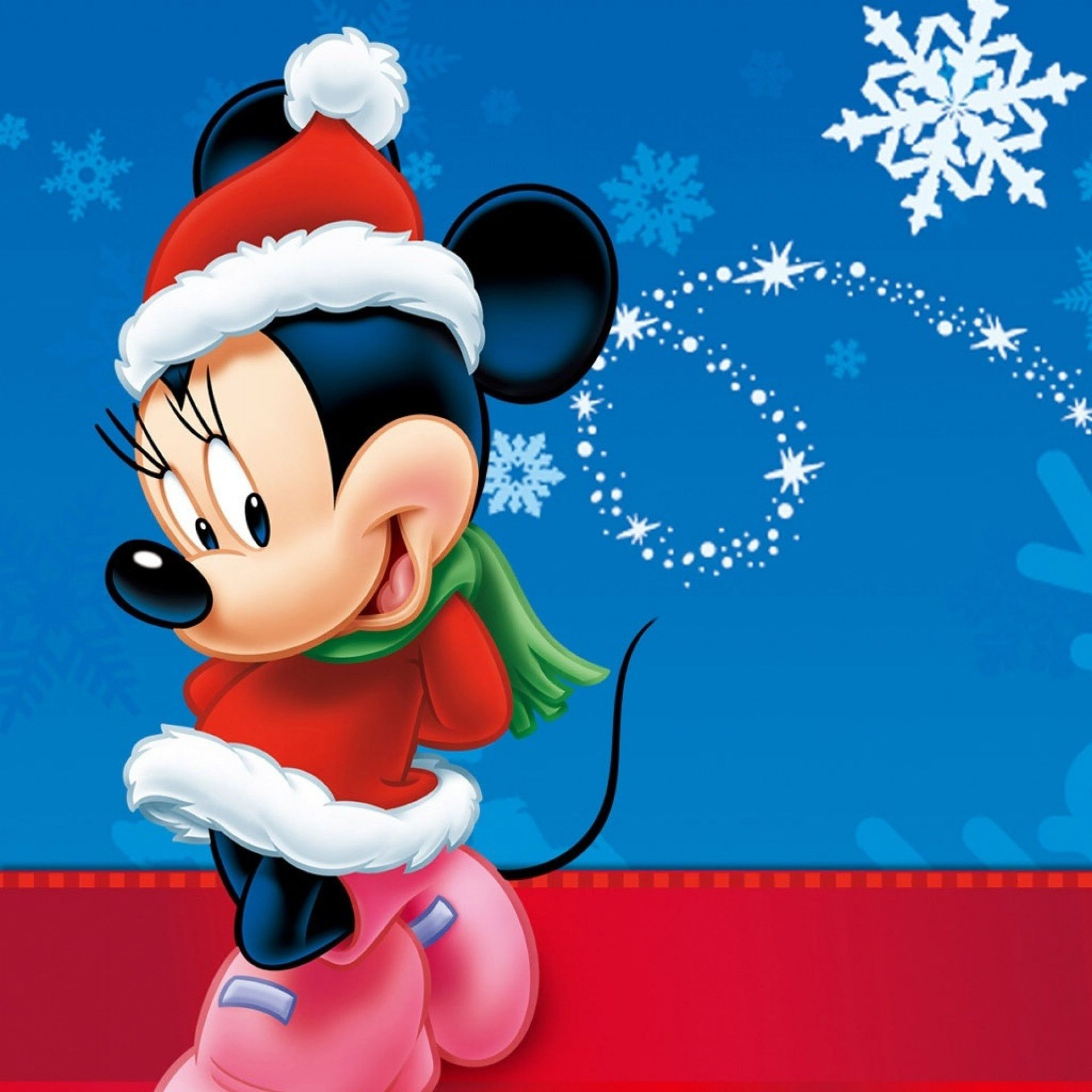 Free Download Mickey Mouse Christmas Wallpaper Car