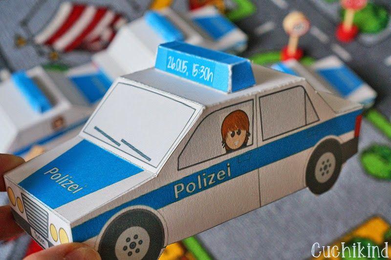 Einladungen Zum Polizei Geburtstag