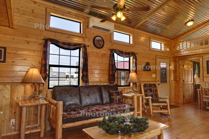 Ulrich Log Cabins :: Cabin Gallery :: Texas Log Cabin Manufacturer