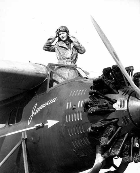 Cheetah Aviatrix: 1929/1932 by Vern Gorst (by UW Digital Collections)