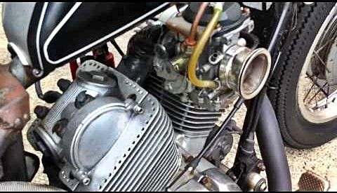 A different carburetor setup on XV250 | Yamaha Virago XV 250