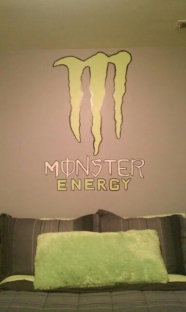 Monster Energy Wall
