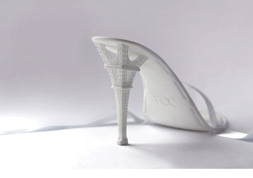 4d40871d4b8 Eiffel Tower heel…with laser-sintered plastic… loving the white ...