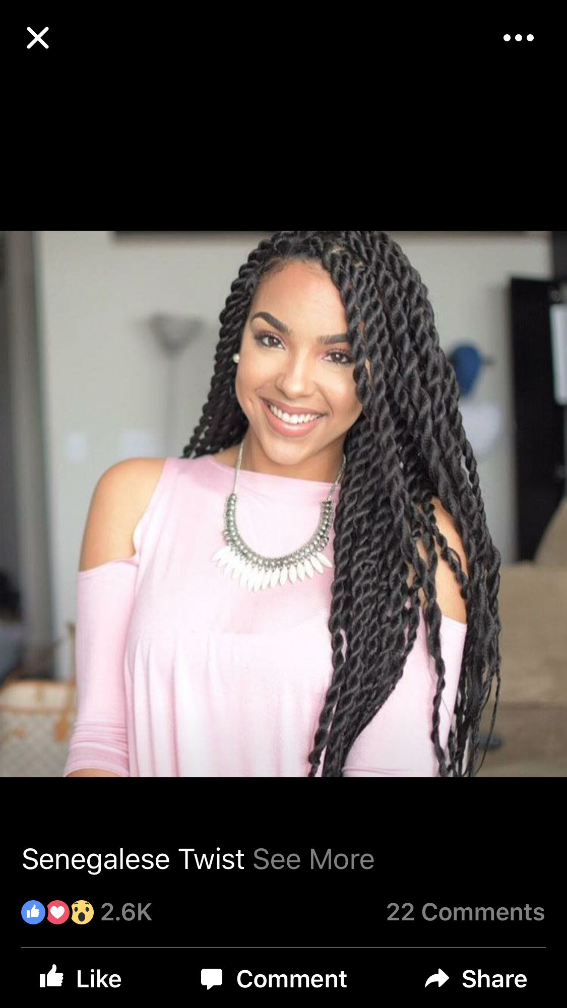 I Like The Loose Senegalese Twists Natural Hair Hair Styles