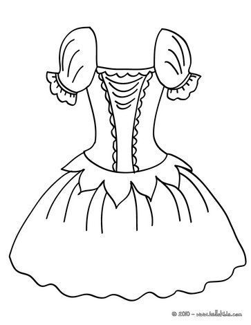 Ballet Tutu Dance Coloring Pages Ballerina Coloring Pages