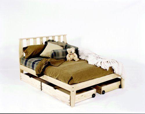 Best Queen Size Mission Platform Bed Frame Unfinished 400 x 300