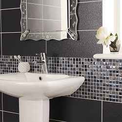 Topps Singapore block mosaics sink splash back £15