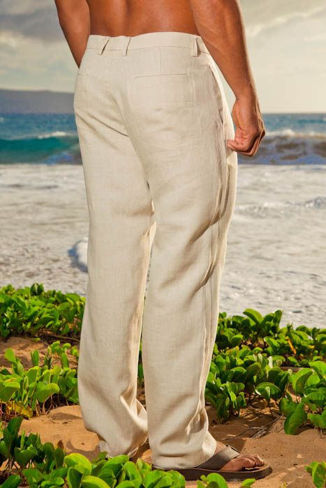 Mens Linen Pants For Wedding | Linen Amalfi Pant White Lillen Pant Shirt Fashion Pinterest