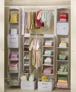 Ideas para organizar el armario de los ni os - Armarios para ninos ...