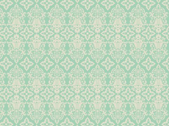 Vintage wallpaper by tzadkiel aqua aquamarine beige - Turquoise wallpaper pinterest ...