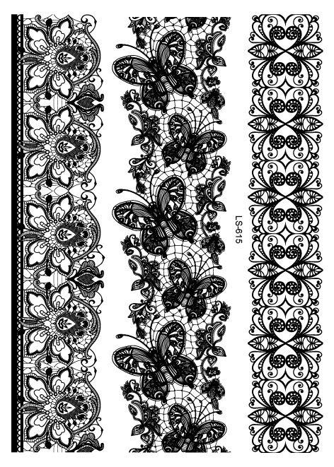 Henna Wrist Designs Lace: Temporary Tattoo : Henna Fake Tattoo