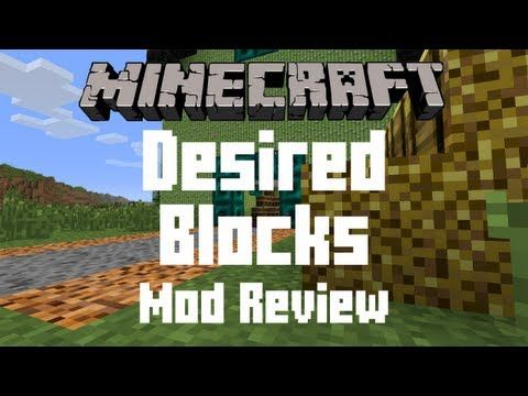 Desired Blocks Mod for Minecraft 1.7.10 -  The Desired Blocks Mod is a utility mod that adds new ways to craft storage items and saddles. It makes Minecraft more fun and convenient.  #MinecraftMods1710 -  #MinecraftMods
