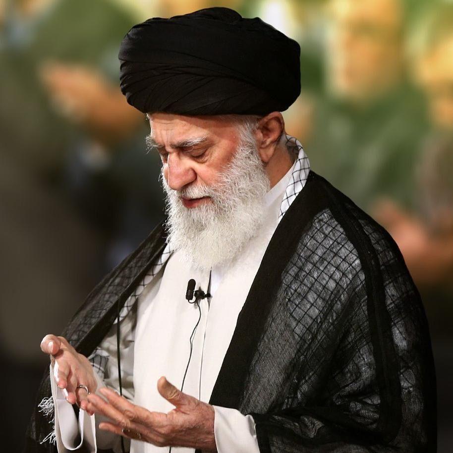 Khamenei Imam Ali Portrait Chador