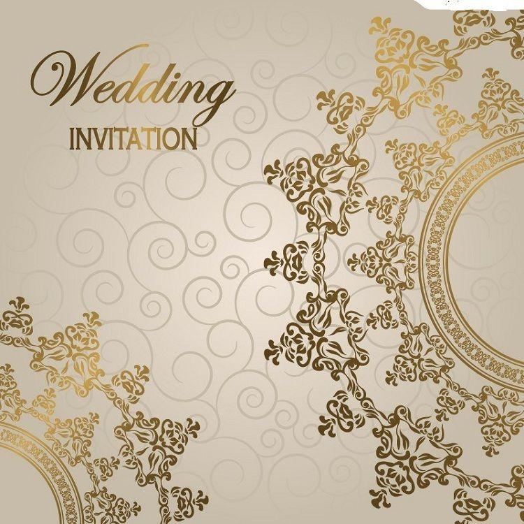 Wedding Invitations Cards Background Addicfashion
