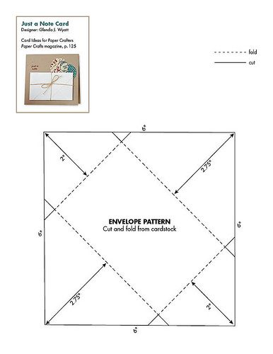 Free Paper Patterns #envelope #mermaid #gnome #star Patterns for - a2 envelope template