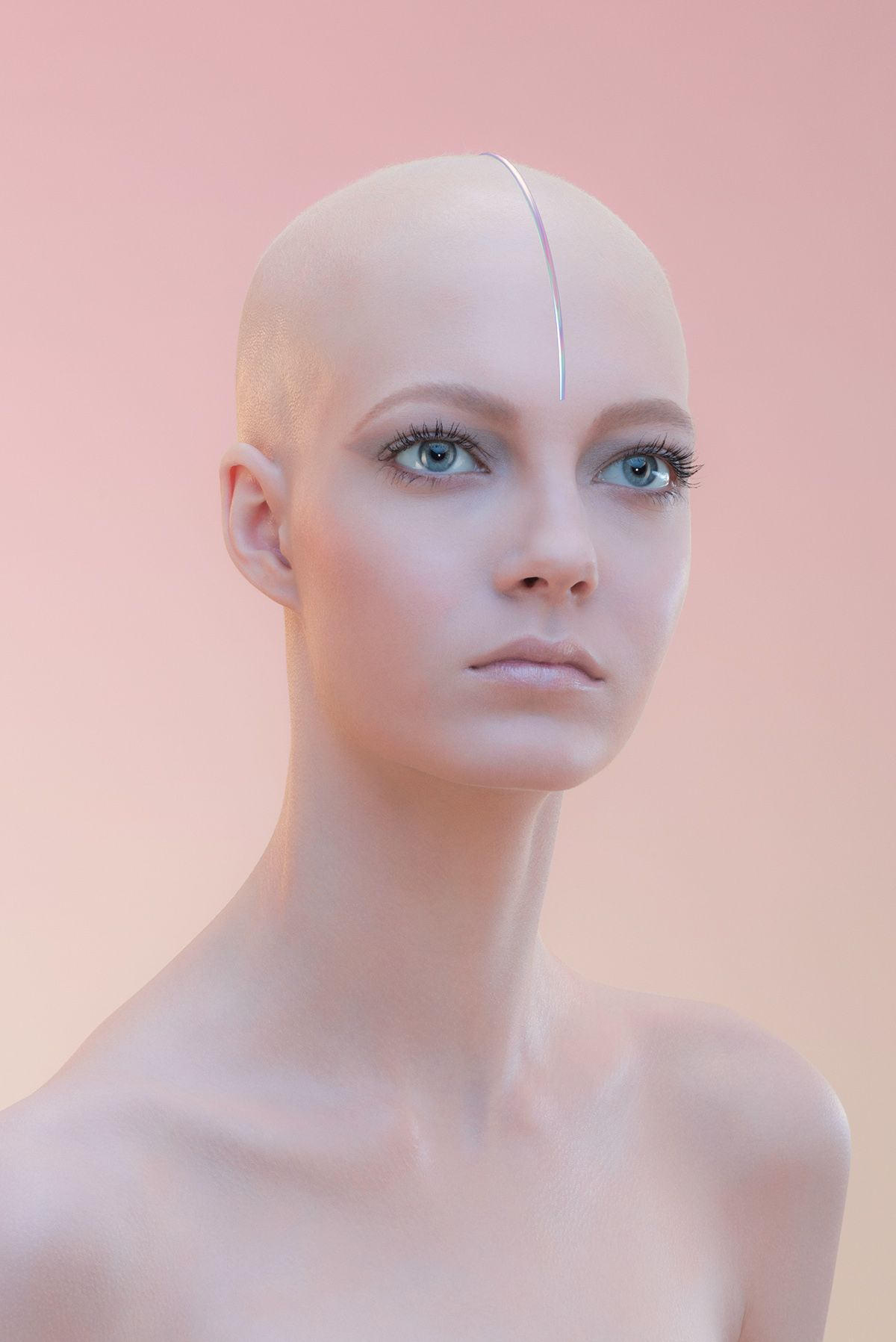 Jesus Moreno on Behance | hairstyles | Pinterest | Nude makeup and ...