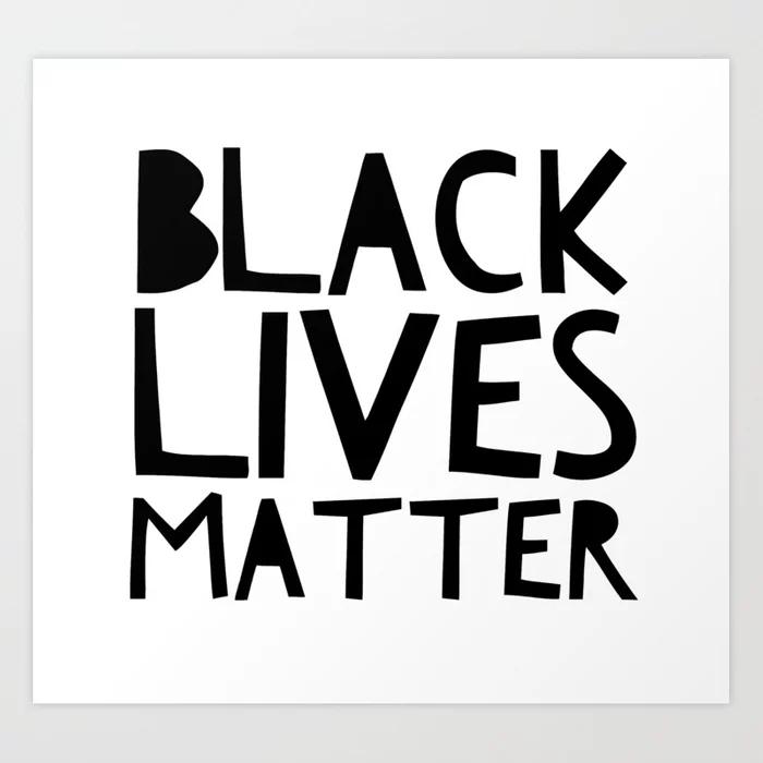 Large Small,Medium White Shirt With Black Letters Black Lives Matter Shirt| UNISEX X-Large