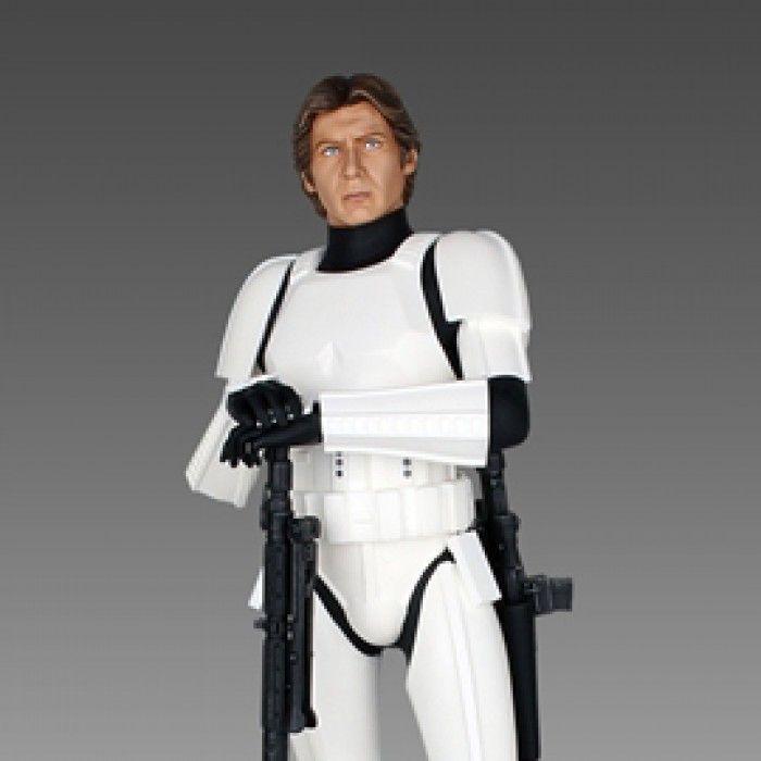 Han Solo Stormtrooper Deluxe Statue