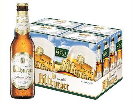 Bia Bitburger 5% - Chai 330ml - Bia Nhập Khẩu