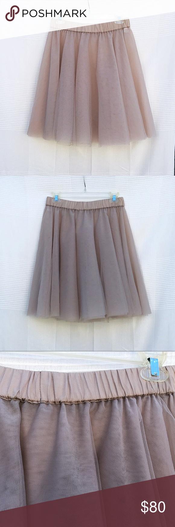 4f49afeb42 ✨💕SALE💕Cathrine Hammel CLASSIC TULLE SKIRT-Taupe Cathrine Hammel CLASSIC  TULLE SKIRT- Taupe Classic tulle skirt with multiple tulle layers, cotton  lining ...