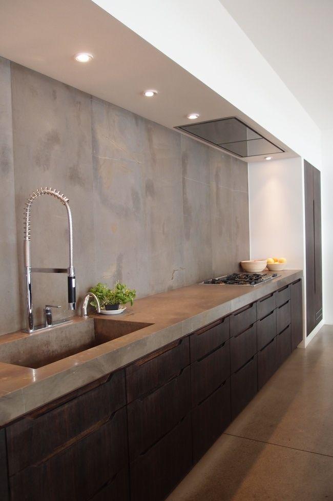 Interesting Kitchen Concept Design Kitchens Cement Modern Stunning Interior Designed Kitchens Concept