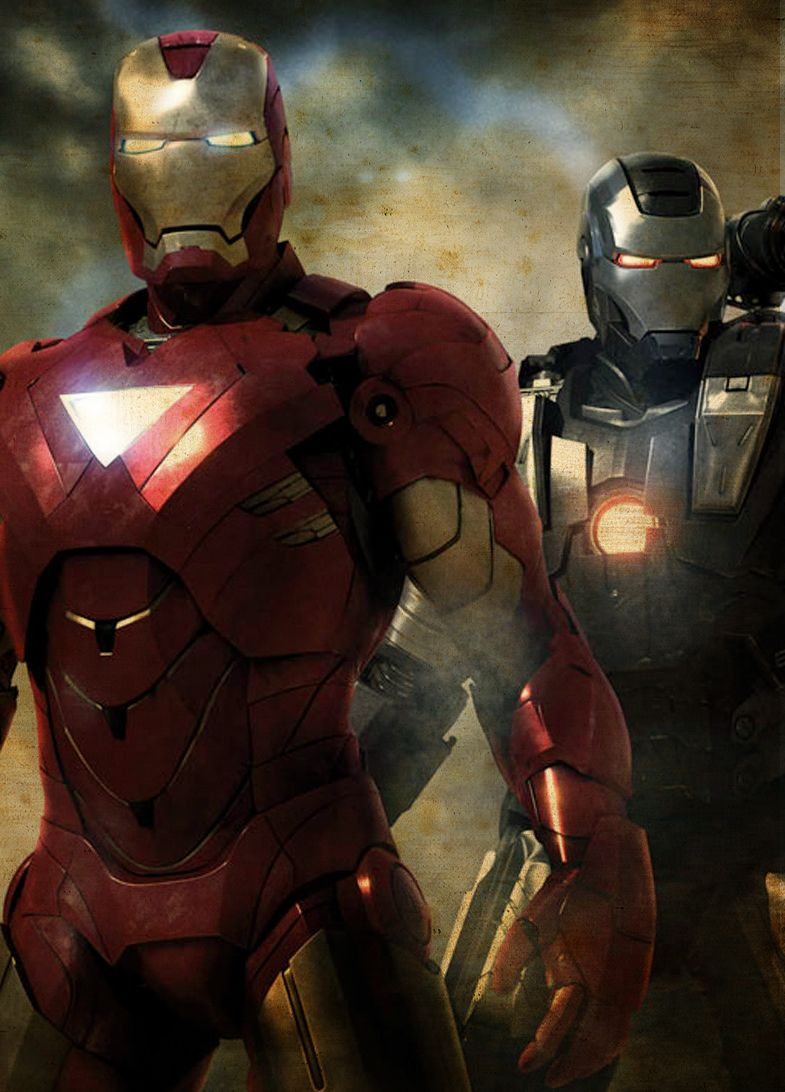 Divided We Fall Wallpaper Iron Man And War Machine Can T Wait To Paint Iron Man