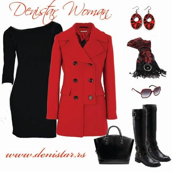 Denistar black dress - 300/609  Fashionable women Valentine's Day outfit