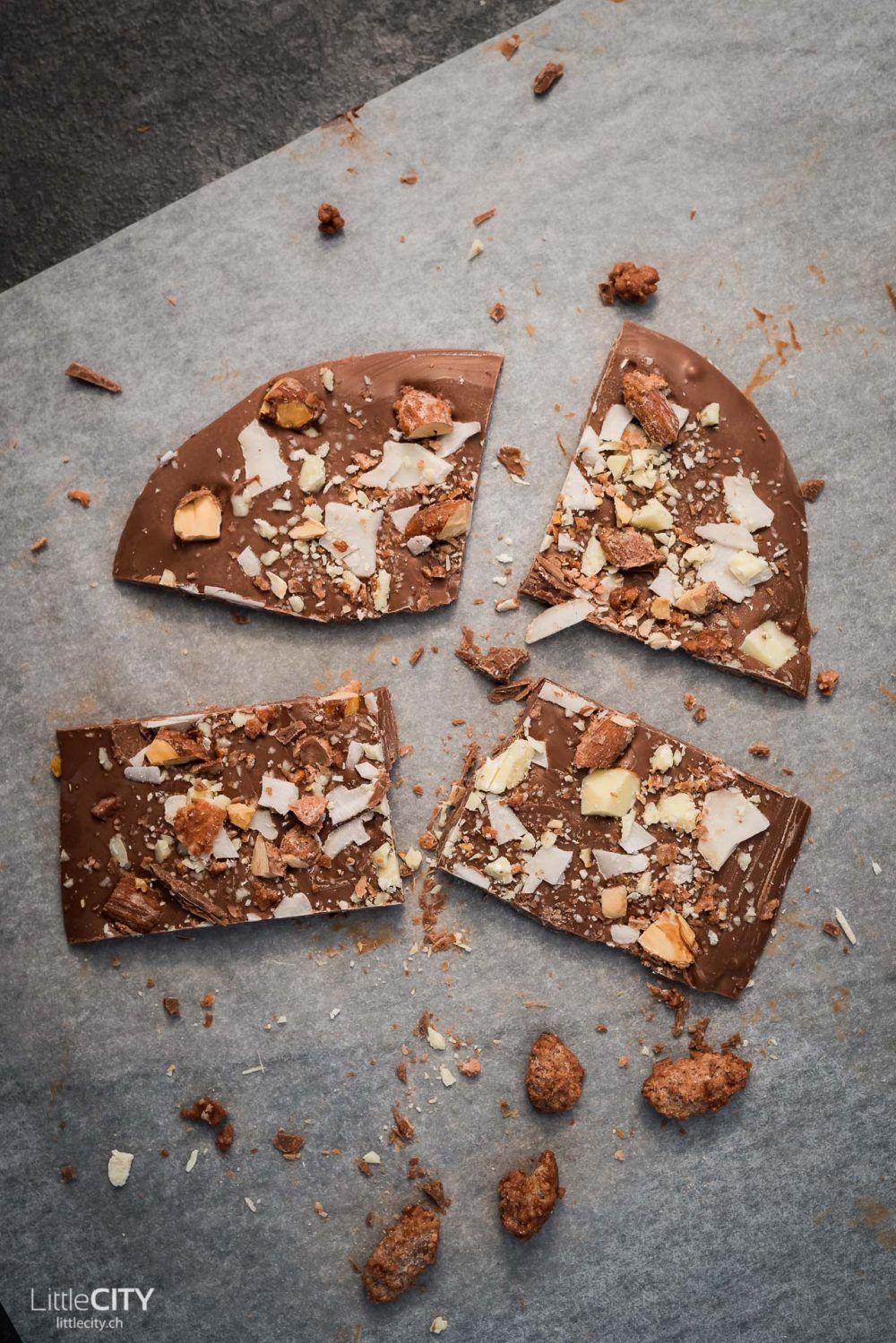 Schokolade Tafeln selber machen: Einfach, schnell, schön | Geschenkidee
