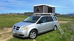 Budget Dodge Campervans For Rent With Roof Top Tents In