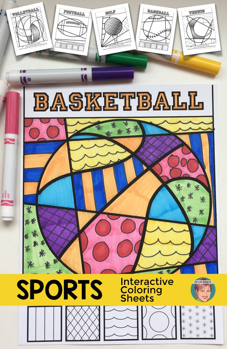 sports interactive and pattern filled coloring sheets football coloring and american football. Black Bedroom Furniture Sets. Home Design Ideas