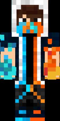 Ninja Fire And Water Assassin Nova Skin Minecraft Skins Cool Minecraft Skins Minecraft Characters
