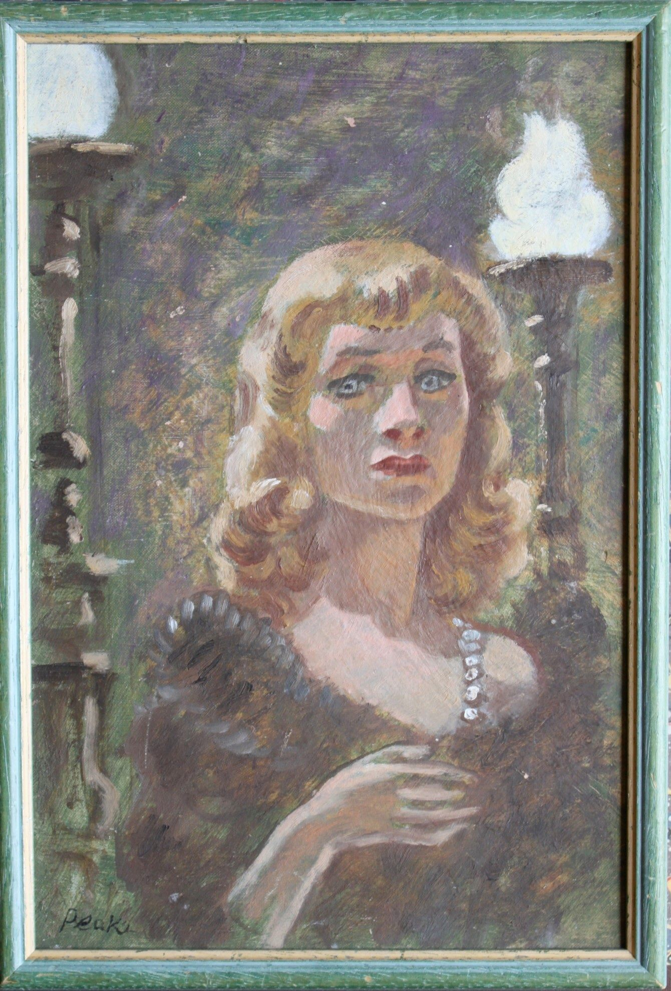 Image result for blanche dubois painting