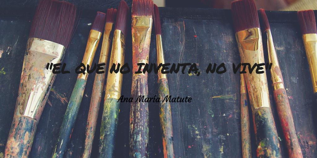 """""""El que no inventa, no vive"""". Ana María Matute  Creatividad, diseño mexicano, hecho en México, inventiva, creativity, design. Unique Cases."""