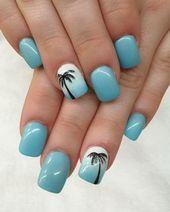 Photo of Nails Ideas #Spring Break nails beach #Spring Break nails beach #Spring Break Fl…