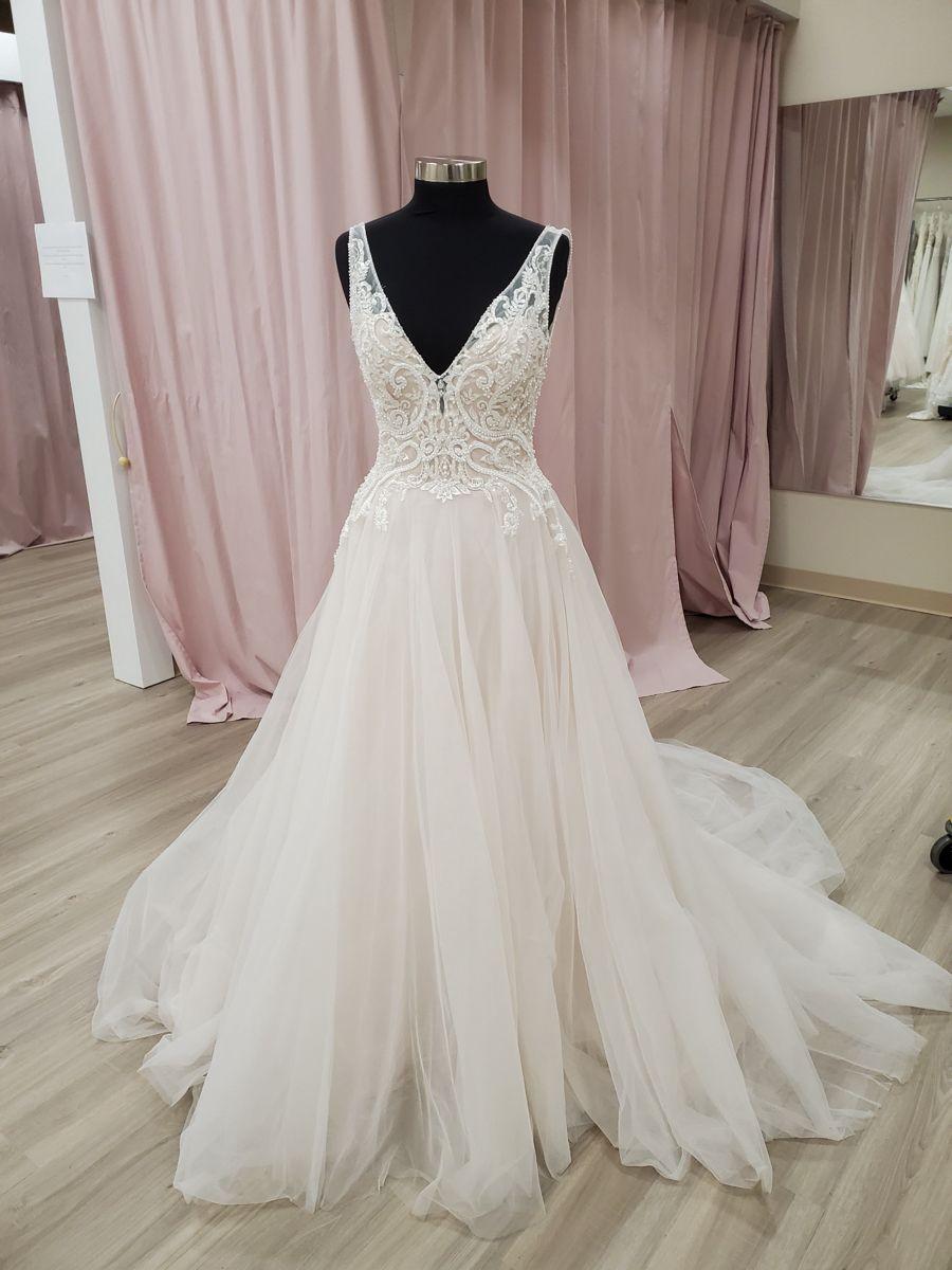 Pin by Blush Love Bride on Size 20 wedding dresses   A line wedding ...