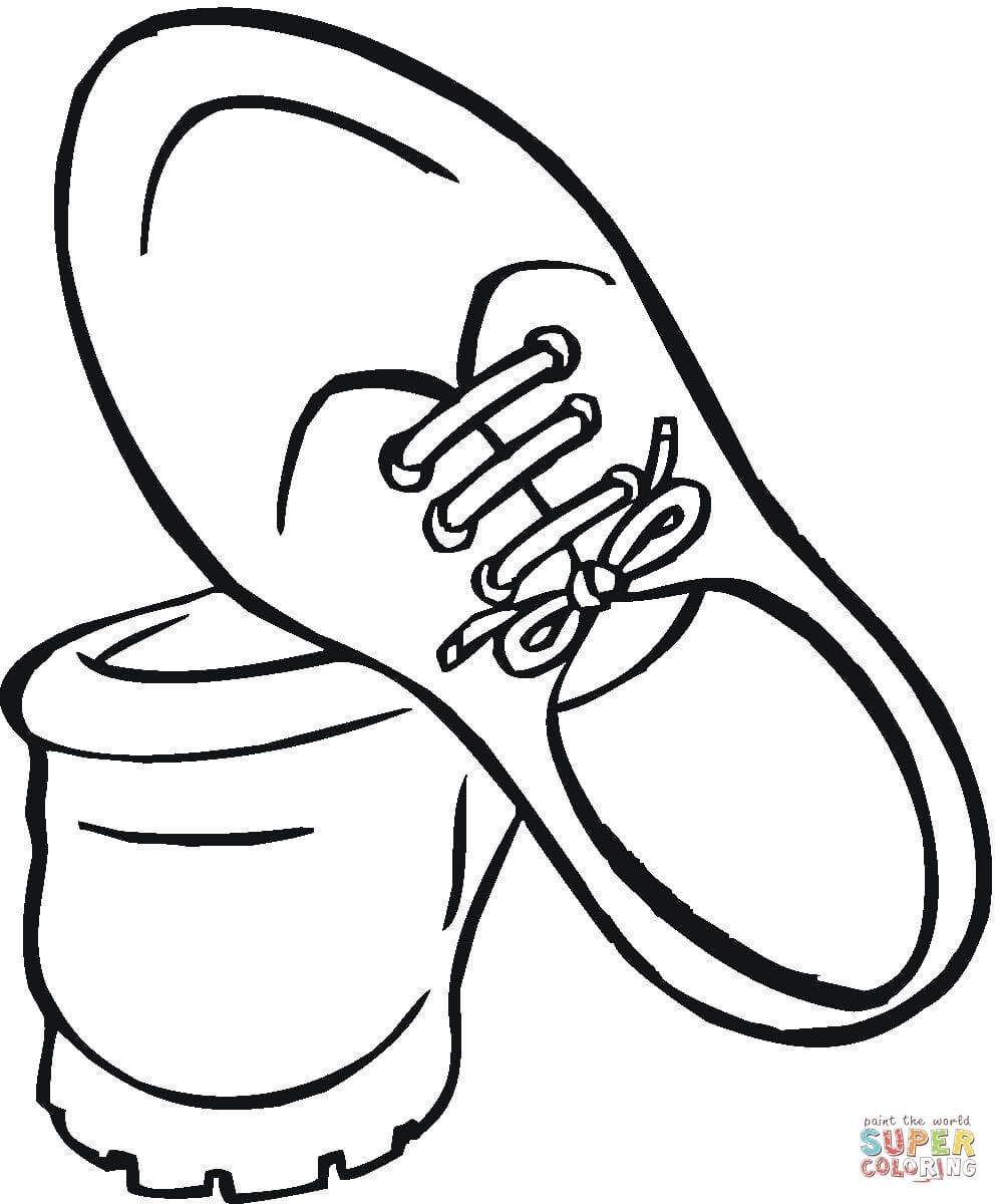 22 Exclusive Picture Of Coloring Pages Of Shoes Coloring Books