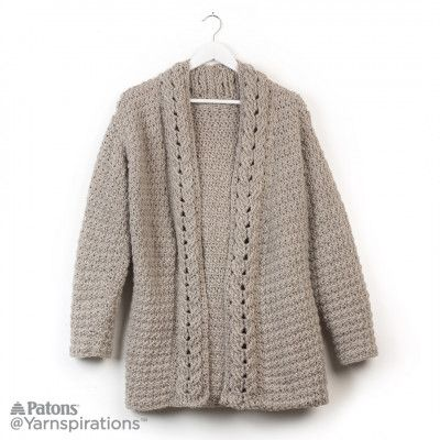 Free Easy Cardigan Crochet | Crochet: Women\'s Clothing | Pinterest ...
