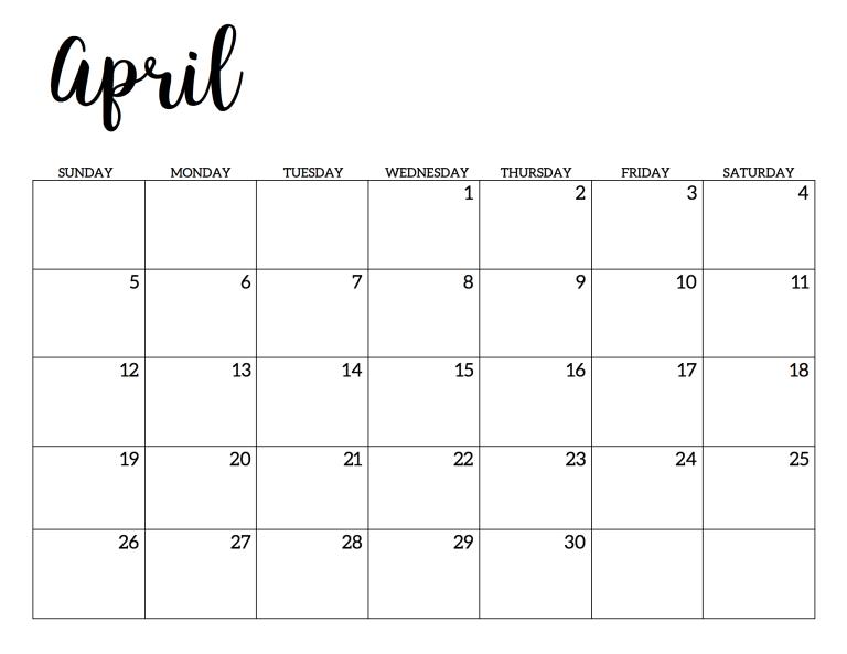 2020 Calendar Printable Free Template Paper Trail Design Calendar Printables Print Calendar School Calendar