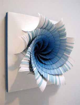 Colorful paper craft ideas contemporary wall art paper flowers paper arts and crafts 3d paper craft ideas for making blue paper flowers for wall decoration mightylinksfo