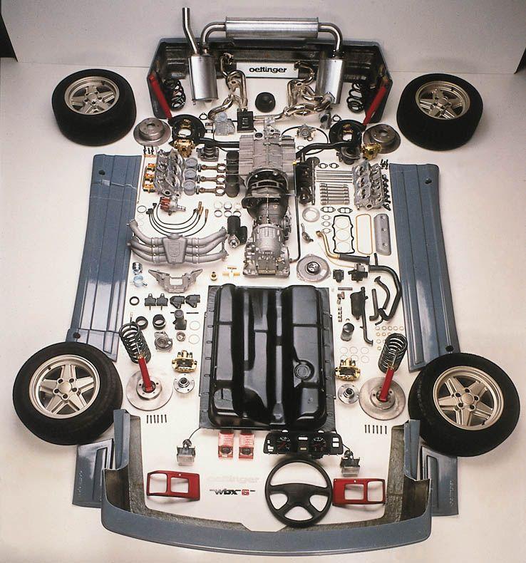 "Volkswagen Bus Parts: Oettinger Vanagon Build Kit. ""WBX6"""