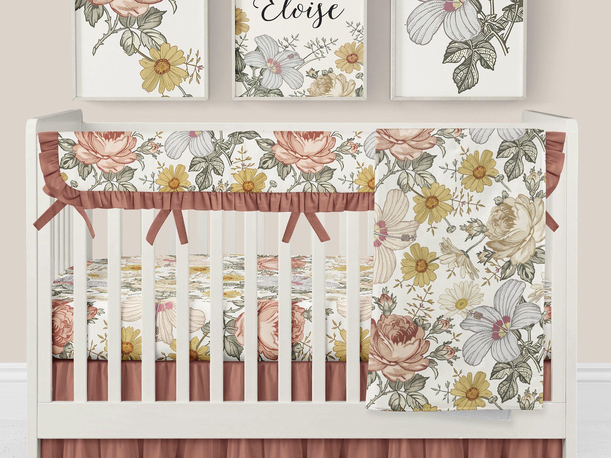 So cute! Spurs n Pearls Vintage Western Nursery Bedding