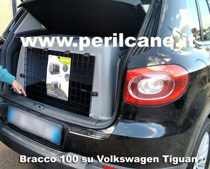 Trasportino Bracco 100 Per Cani Su Fiat Cinquecento Trasportini