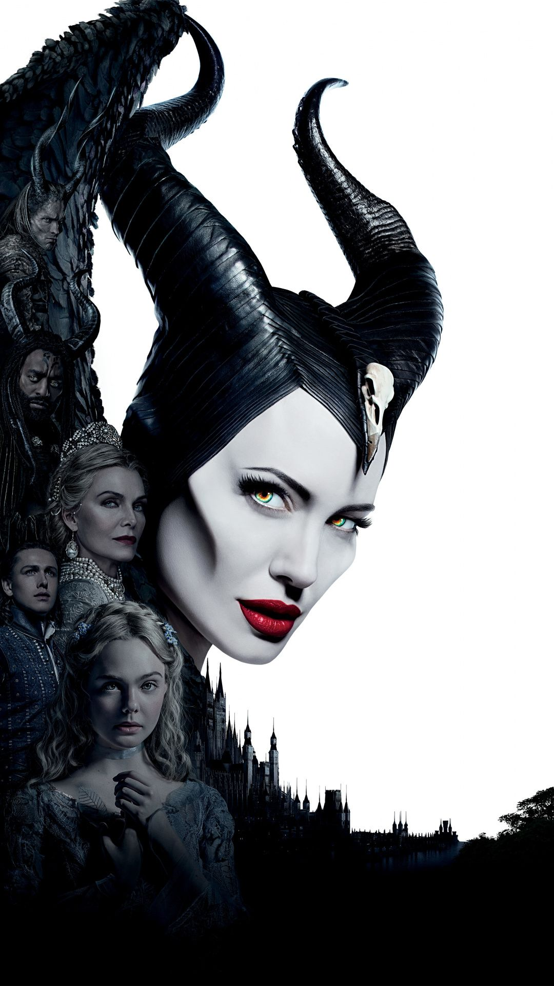 1080x1920 Maleficent Mistress Of Evil Witch Movie 2019