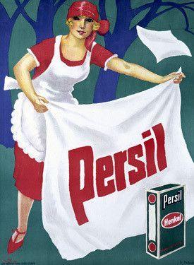 Persil Laundry Detergent Soap Advertisement Fine Art Print