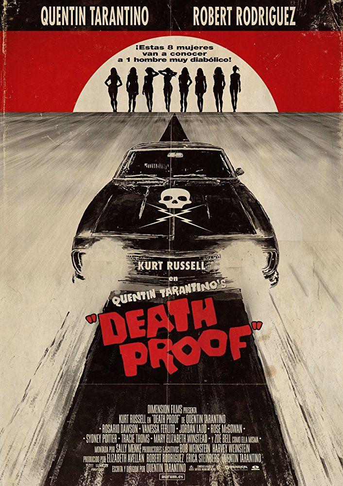 """Poster do #filme """"À Prova de Morte"""" (2007), com #KurtRussell e ..."""