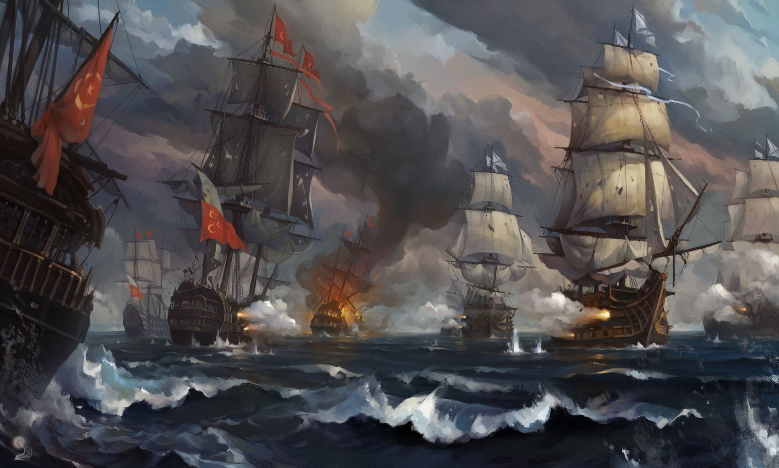 The Battle of Land and Sea