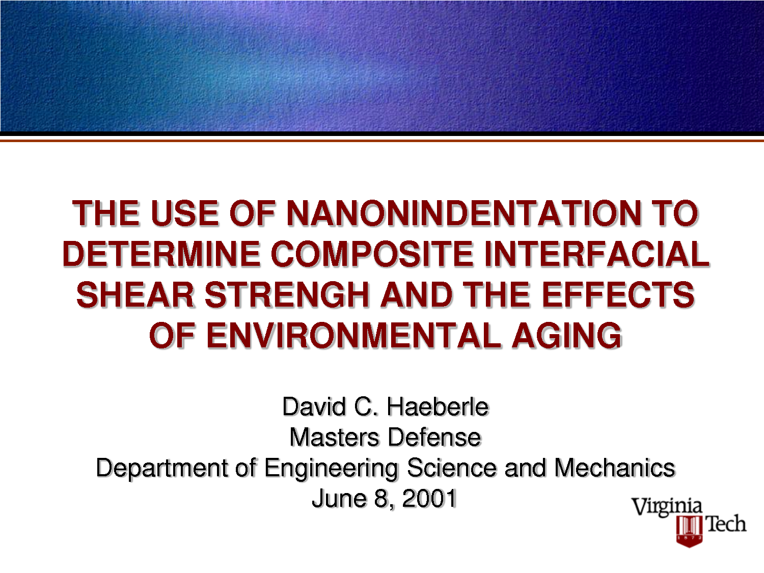 science ppt | thesis defense haeberl.ppt - engineering science and, Modern powerpoint