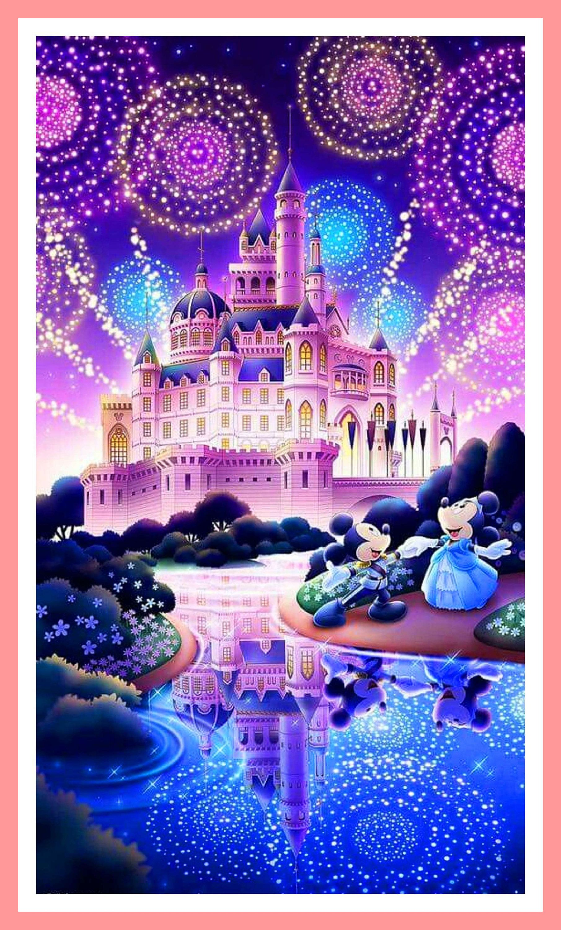 Buy 2 Get 1 Free Mickey Mouse And Minnie Mouse 318 Cross Stitch
